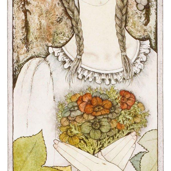 画像4: 葡萄棚の女