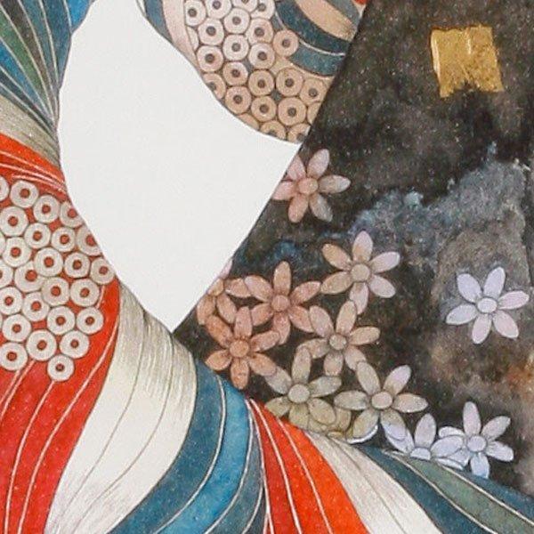 画像5: 花のスカーフをした女