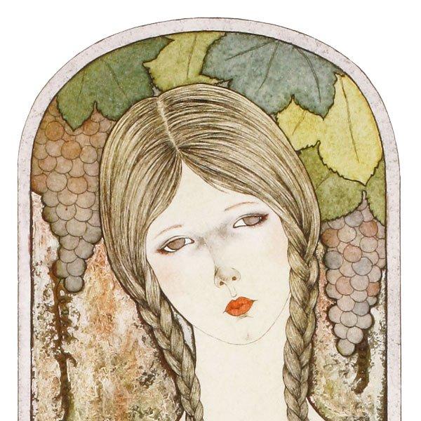 画像3: 葡萄棚の女