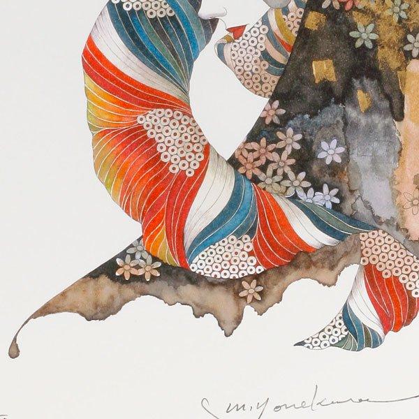 画像4: 花のスカーフをした女