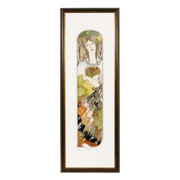 画像1: 葡萄棚の女